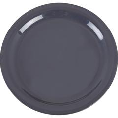 """CFS4385240CS - CarlisleDayton Melamine Dinner Plate 9"""" - Peppercorn"""