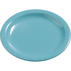 "CFS4385463CS - CarlisleDayton Melamine Salad Plate 7.25"" - Turquoise"