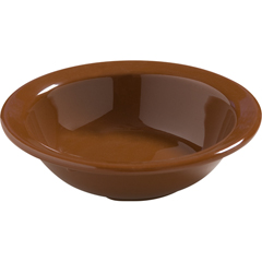 CFS4386643CS - CarlisleDayton Melamine Fruit Bowl 4.5 oz - Toffee