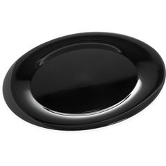 "CFS4440603CS - Carlisle - Designer Displayware Wide Rim Round Platter 19"" - Black"