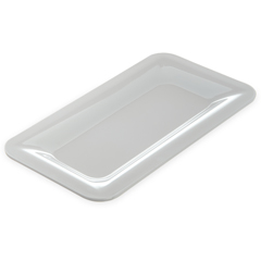 "CFS4446002CS - Carlisle - Designer Displayware Third Size Food Pan 1"" - White"