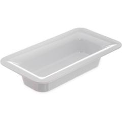 """CFS4446202CS - Carlisle - Designer Displayware Third Size Food Pan 2-1/2"""" - White"""