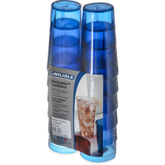 CFS5212-8247CS - CarlisleStackable SAN Tumbler 12 oz (12/pk) - Royal Blue