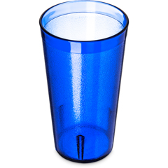 CFS521647CS - CarlisleStackable SAN Plastic Tumbler 16 oz - Royal Blue