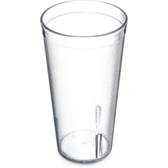 CFS5220-807CS - CarlisleStackable SAN Tumbler 20 oz - Cash  Carry (12/st) - Clear