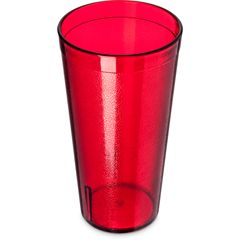 CFS5220-810CS - CarlisleStackable SAN Tumbler 20 oz - Cash  Carry (12/st) - Ruby