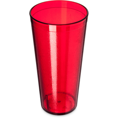 CFS5224-810CS - CarlisleStackable SAN Tumbler 24 oz (12/st) - Ruby