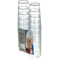 CFS5224-8207CS - CarlisleStackable SAN Tumbler 24 oz (12/pk) - Clear