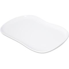 """CFS5300902CS - CarlisleStadia Melamine Platter 13"""" x 7"""" - White"""