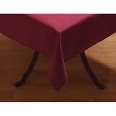 "CFS53785252SM046CS - Carlisle - SoftWeave Square Tablecloth 52"" x 52"" - Burgundy"