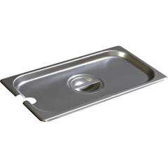 CFS607130CSCS - CarlisleDuraPan Third-Size Stainless Steel Hotel Pan Slotted Handled Cover