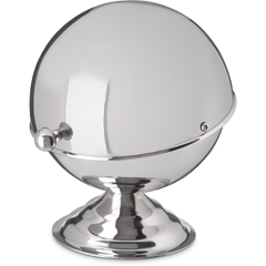 CFS609131CS - Carlisle - Roll-Top Covered Dish 10 oz - Stainless Steel