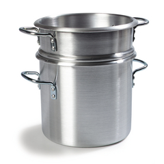 CFS60921CS - CarlisleDouble Boiler with  Insert 12 Qt - Aluminum