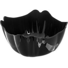 CFS653403CS - Carlisle - Orchid Deli Bowl 6.8 qt - Black