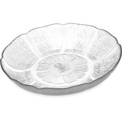 CFS690707CS - CarlislePetal Mist® Soup/Salad Plate 23.9 oz, 7-15/16 - Clear