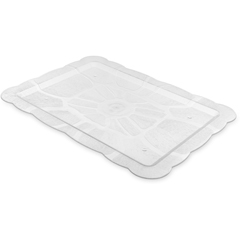 "CFS694707CS - Carlisle - Petal Mist® Rectangular Tray 21-15/16"" x 15-15/16"" - Clear"