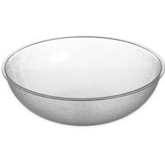 CFS720807CS - Carlisle - Round Pebbled Bowl 1.7 qt - Clear