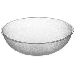 CFS721207CS - Carlisle - Round Pebbled Bowl 5.5 qt - Clear
