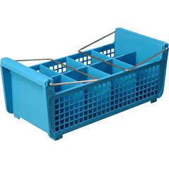 CFSC32P214CS - CarlisleOptiClean™ Flatware Basket with Handles