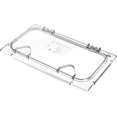 CFSCM10279Z07CS - CarlisleColdmaster® EZ Access Lid w/ Notch 1/3 Size - Clear