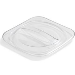 CFSCM140307CS - Carlisle - Designer Coldmaster® 1 Qt Solid Lid - Clear