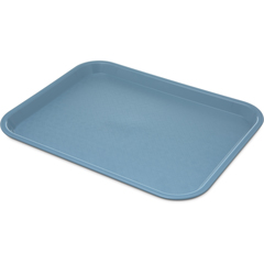 "CFSCT101459CS - CarlisleCafe® Fast Food Cafeteria Tray 10"" x 14"" - Slate Blue"