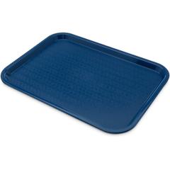 """CFSCT121614CS - CarlisleCafe® Fast Food Cafeteria Tray 12"""" x 16"""" - Blue"""