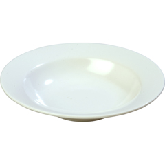 CFSKL12302CS - CarlisleKingline Melamine Wide Rimmed Salad bowl 8 oz - White