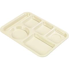 CFSP61425CS - CarlisleLeft-Hand 6-Compartment Tray - Tan