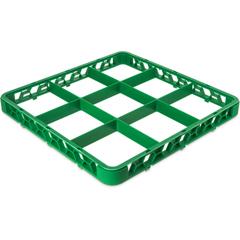 CFSRE9C09CS - CarlisleOpticlean 9-Compartment Divided Extender - Green