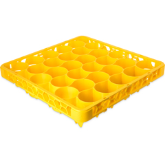 CFSREW30LC04CS - Carlisle - OptiClean NeWave Color-Coded Long Glass Rack Extender 30 Compartment - Yellow