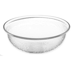 CFSSB6807CS - Carlisle - Round Acrylic Pebbled Bowl