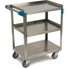 CFSUC3031827 - Carlisle - 3 Shelf Stainless Steel Utility Cart