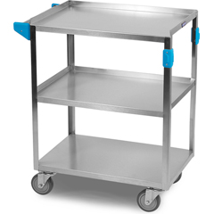 CFSUC5031524 - Carlisle3 Shelf Stainless Steel Utility Cart