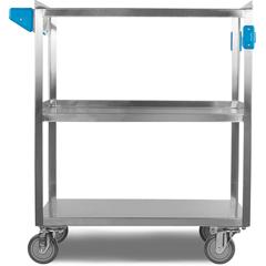 CFSUC5031827 - Carlisle3 Shelf Stainless Steel Utility Cart