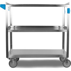 CFSUC5032135 - Carlisle - 3 Shelf Stainless Steel Utility Cart