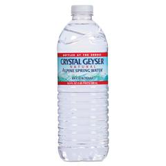 CGW35001CT - Crystal Geyser Alpine Spring Water®