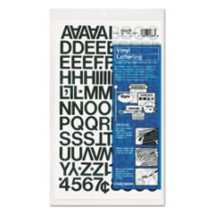 CHA01020 - Chartpak® Press-On Vinyl Letters & Numbers
