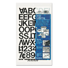 CHA01030 - Chartpak® Press-On Vinyl Letters & Numbers