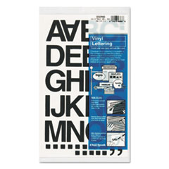 CHA01040 - Chartpak® Press-On Vinyl Letters & Numbers