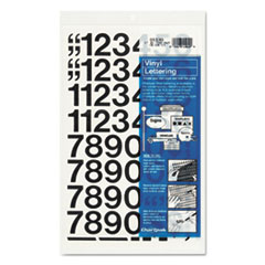 CHA01130 - Chartpak® Press-On Vinyl Letters & Numbers