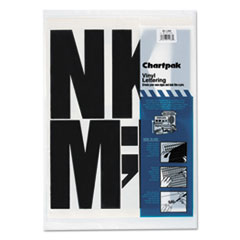 CHA01184 - Chartpak® Press-On Vinyl Letters & Numbers