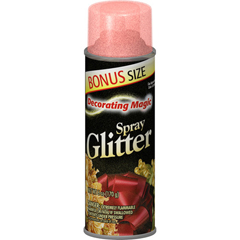 CHA499-0529 - Chase Products - Decorating Magic® Red Glitter Spray