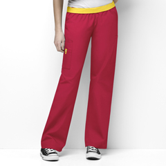 CID5016A-RED-XL - WonderWinkQuebec - Full Elastic Cargo Pant