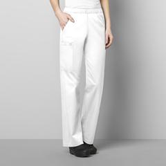 CID501A-WHIT-XL - WonderWinkWomens Elastic Waist Pant