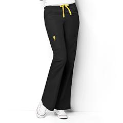CID5026A-BLK-MD - WonderWinkRomeo - 6-Pocket Flare Leg Pant