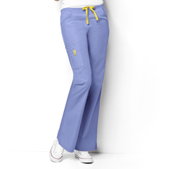 CID5026P-CBL-LG - WonderWink - Romeo - 6-Pocket Flare Leg Pant
