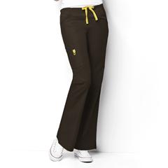CID5026A-CHC-XXS - WonderWinkRomeo - 6-Pocket Flare Leg Pant