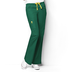 CID5026X-HTR-3XL - WonderWinkRomeo - 6-Pocket Flare Leg Pant