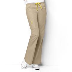CID5026P-KHI-MD - WonderWinkRomeo - 6-Pocket Flare Leg Pant